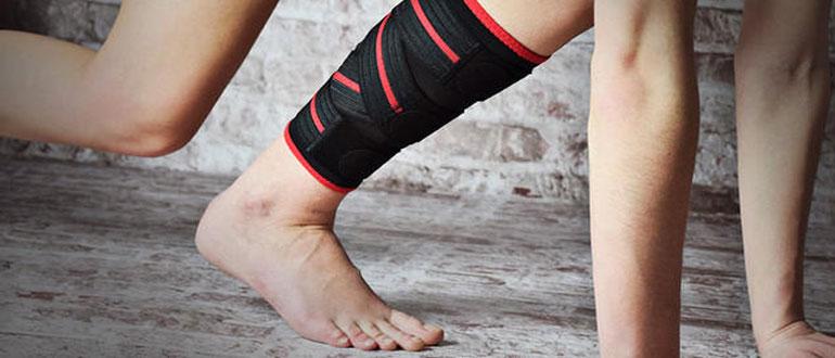 Растяжение мышц ноги