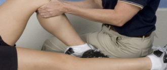 Растяжение паховой мышцы