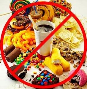 исключить продукты