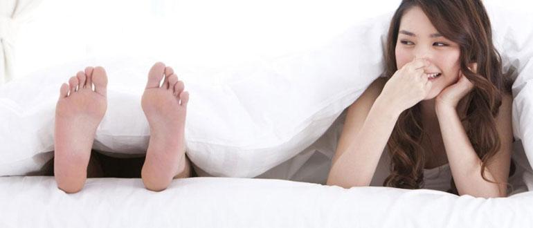 Неприятно пахнут ноги