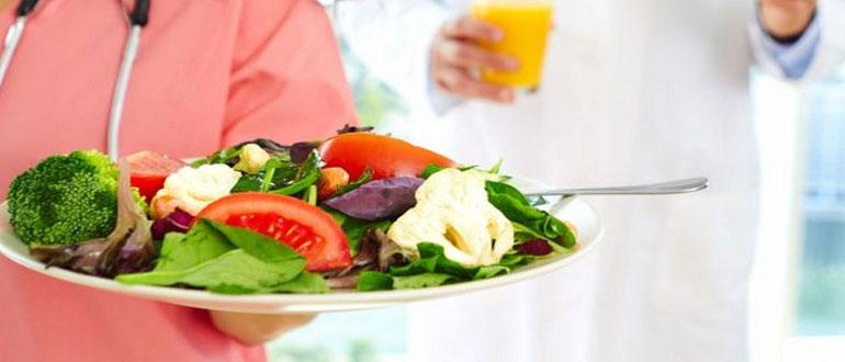 Питание при тромбозе глубоких вен